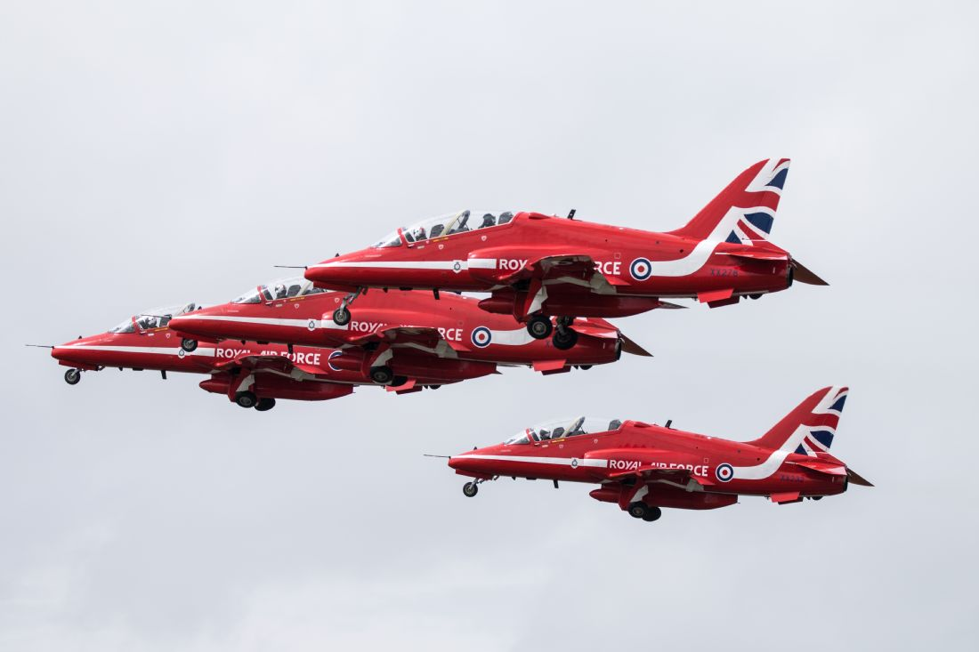Airpower Art | Red Arrows Take Off