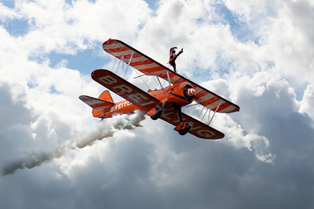 James Biggadike | Wing Walking