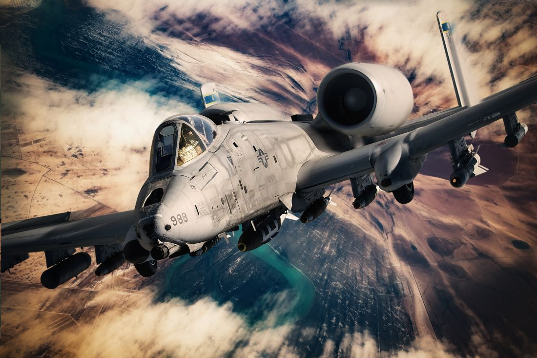 James Biggadike | A-10 Tank Buster