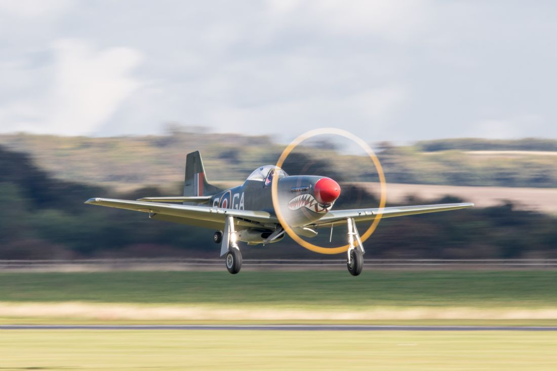 Airpower Art | P-51D Mustang Take Off