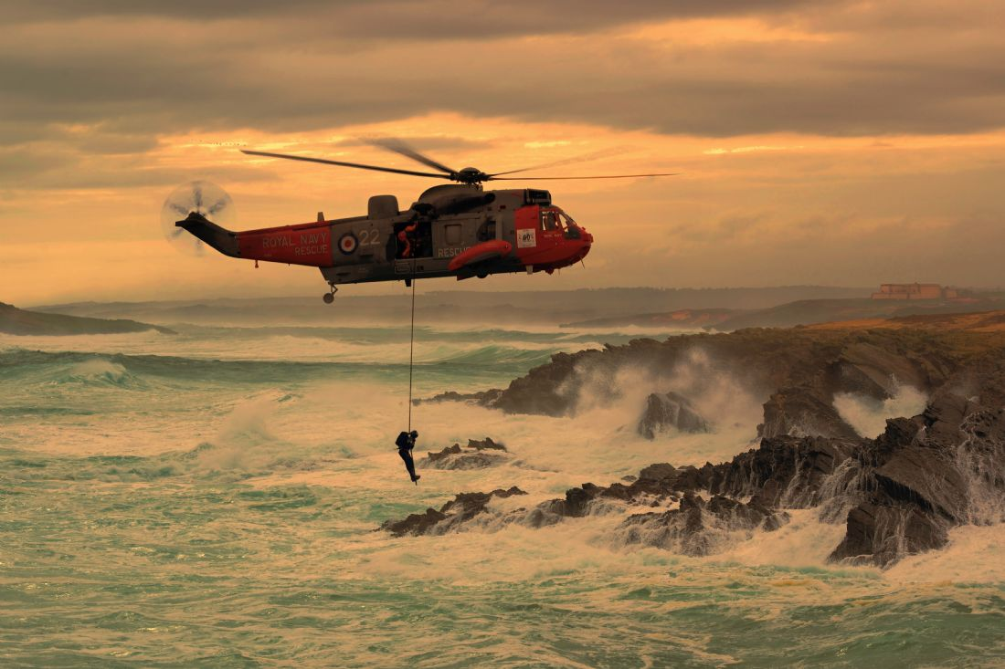 James Biggadike | Royal Navy Rescue
