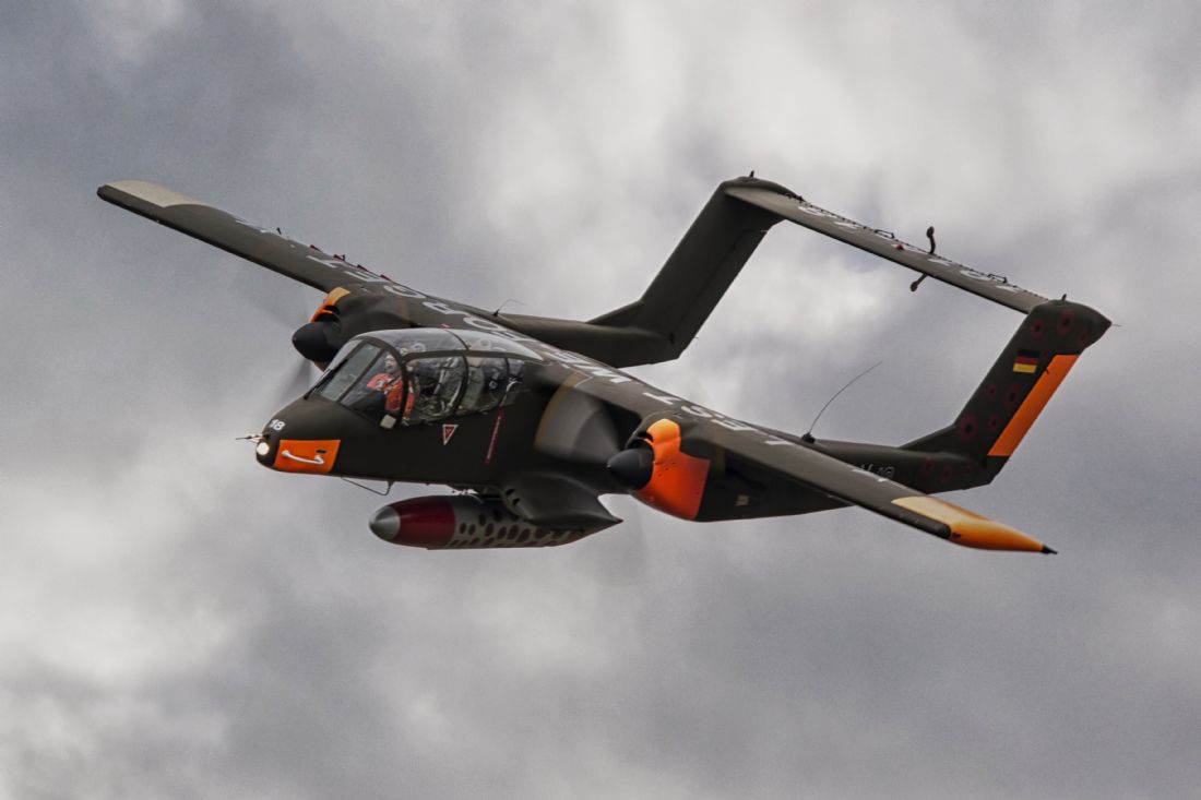 James Biggadike | Rockwell OV-10 Bronco