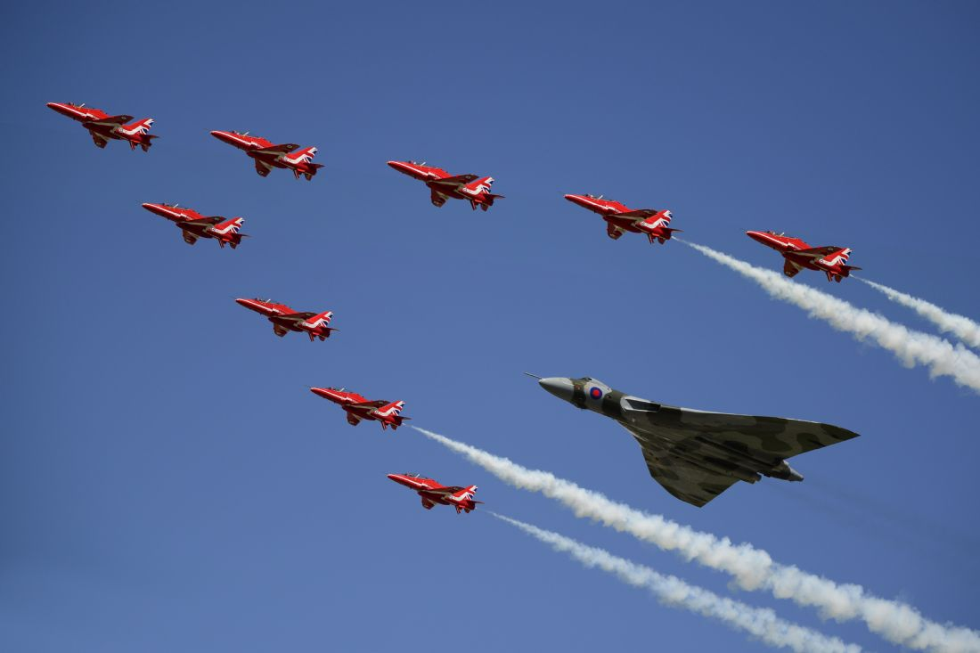 James Biggadike | Vulcan and Red Arrows
