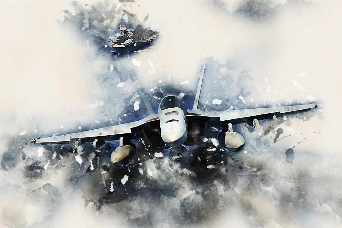 James Biggadike | F-18 Hornet - Painting