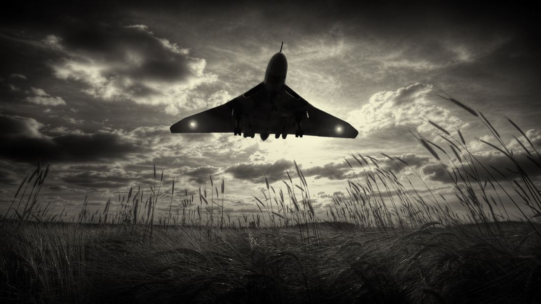 James Biggadike | XH558 Touching Down