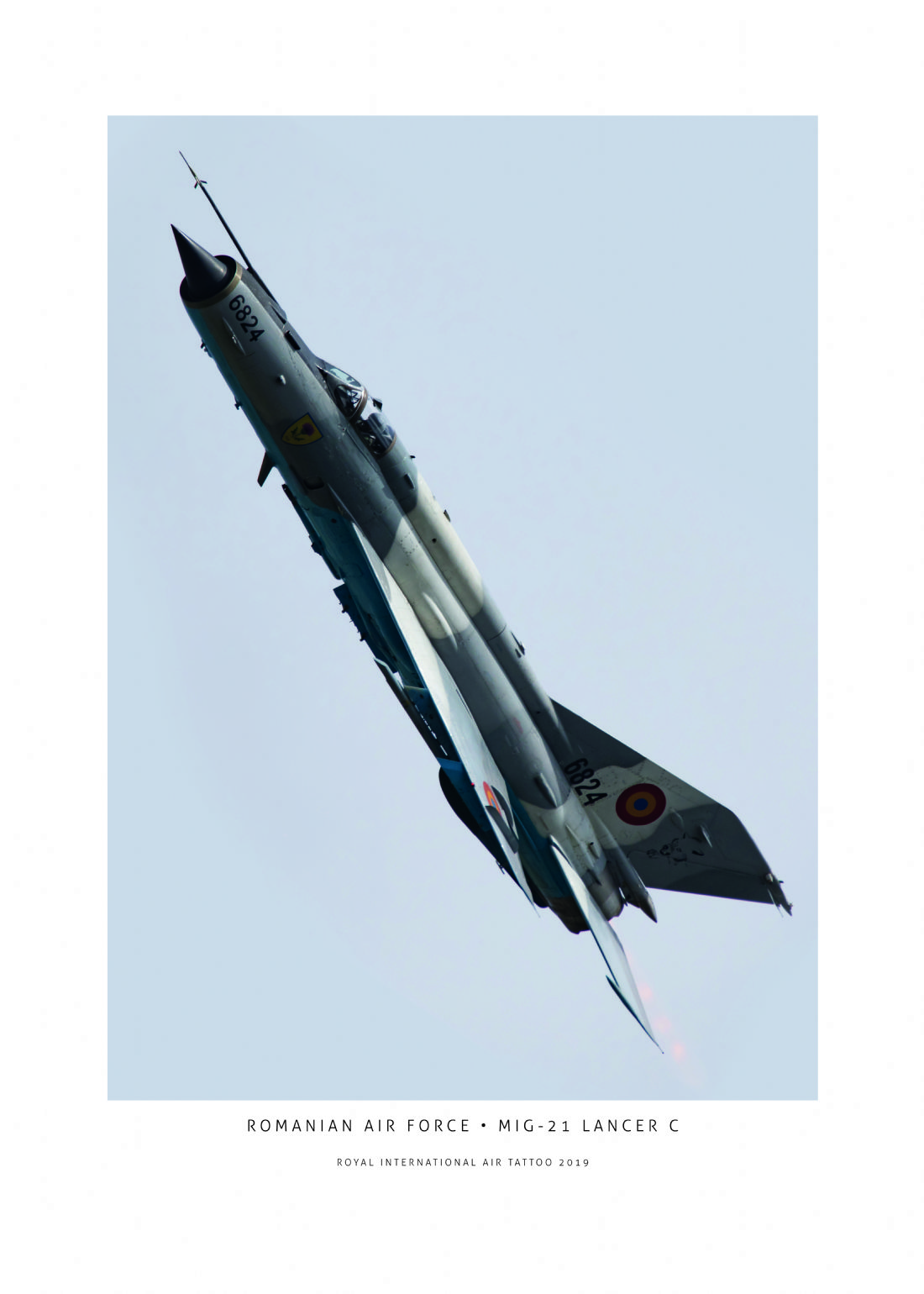 Airpower Art | Romanian Air Force MiG-21 LanceR C