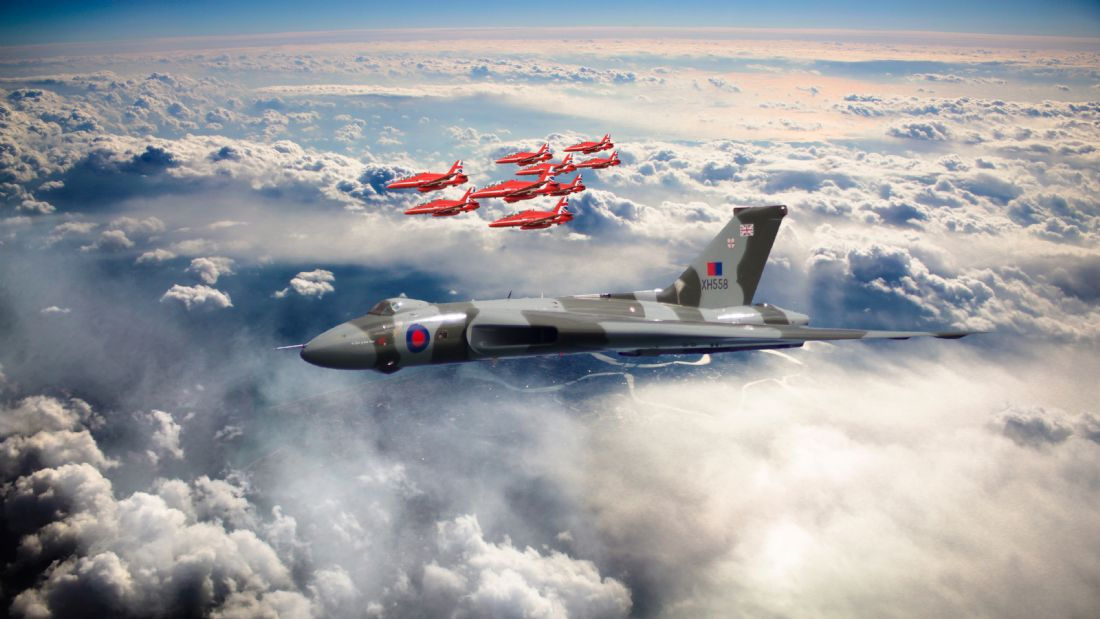 James Biggadike | XH558 With The Reds