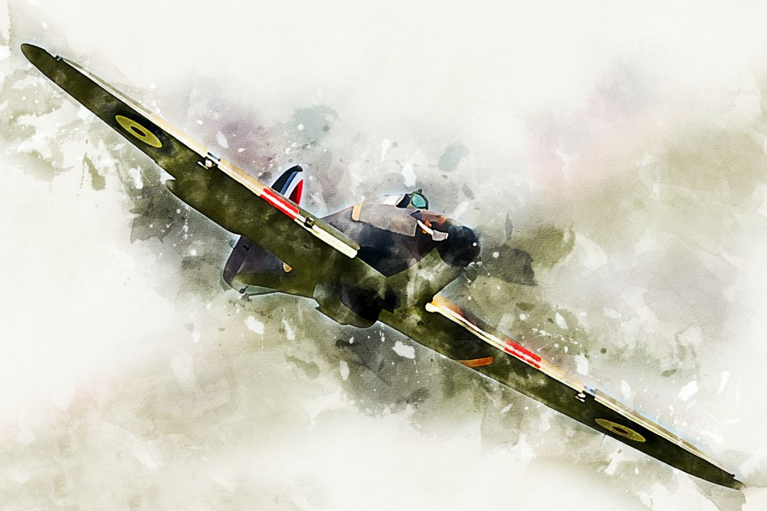 James Biggadike | Hawker Hurricane - Painting