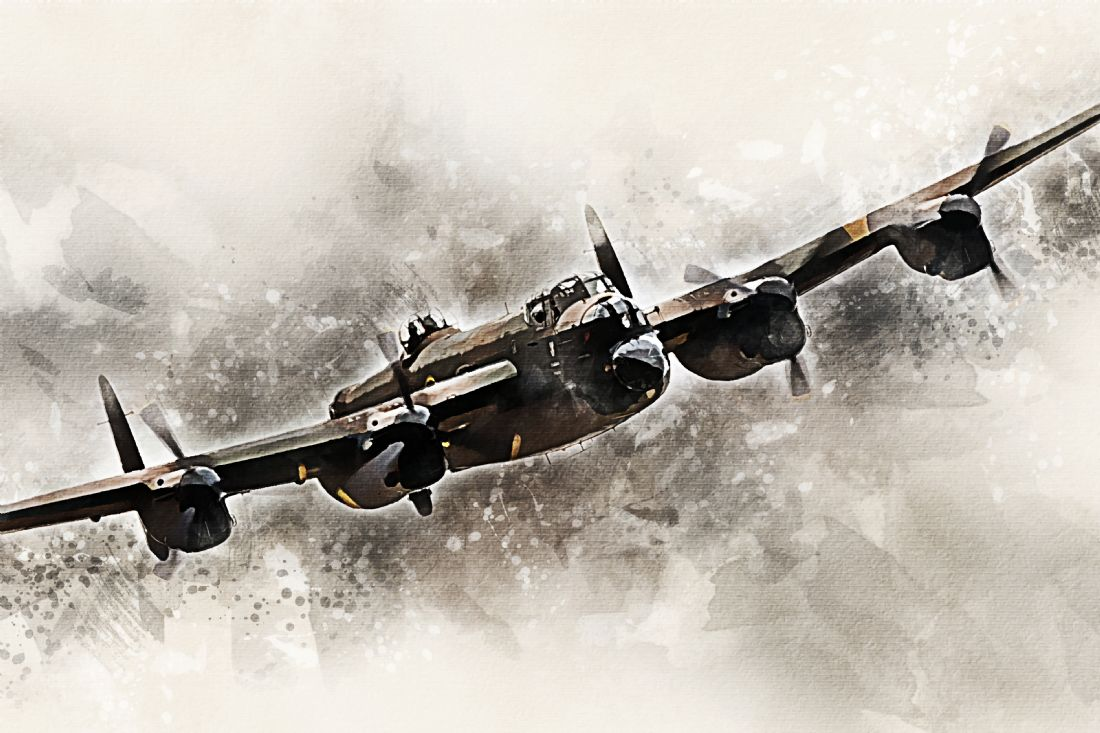 James Biggadike | BBMF Lancaster Bomber - Painting