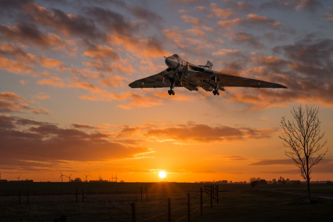 James Biggadike | XH558 Comes Home