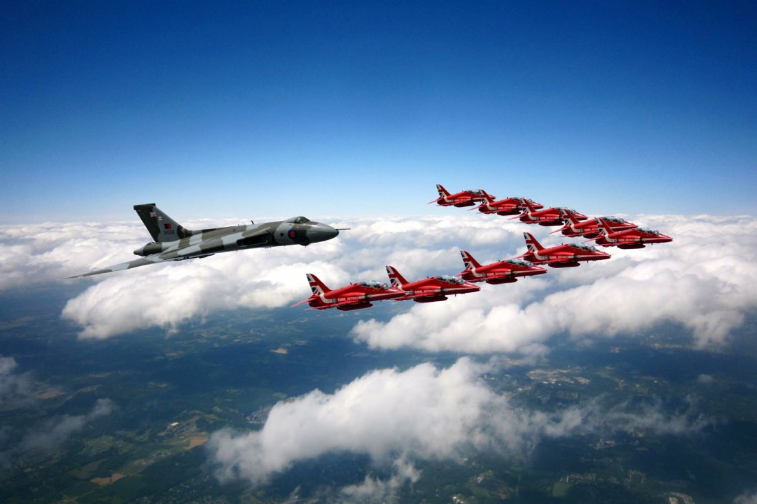 James Biggadike | Flying With XH558 and The Reds