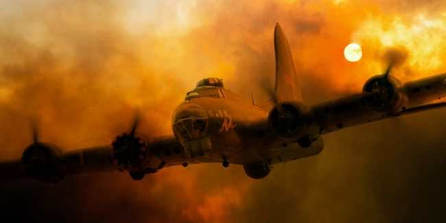 James Biggadike | B-17 Fire