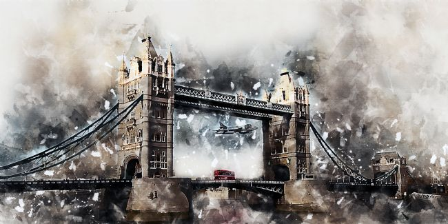 James Biggadike | Under The Bridge - Painting