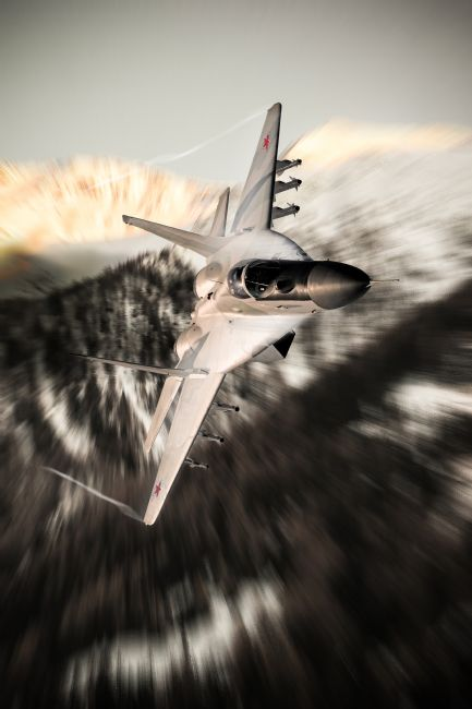 Airpower Art | Fulcrum Pass
