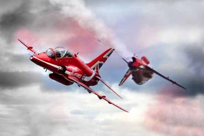 James Biggadike | Red Arrows Pass