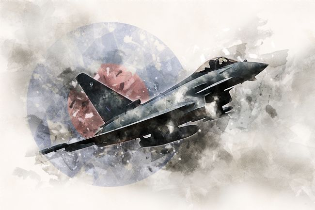 James Biggadike | RAF Typhoon - Painting