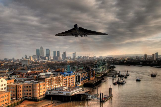 James Biggadike | Vulcan Over London