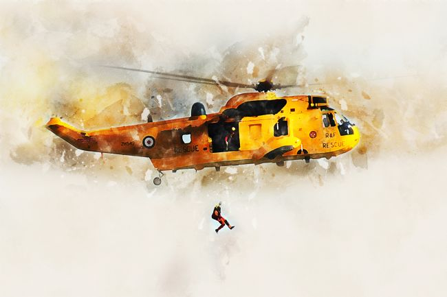 James Biggadike | RAF Sea King - Painting