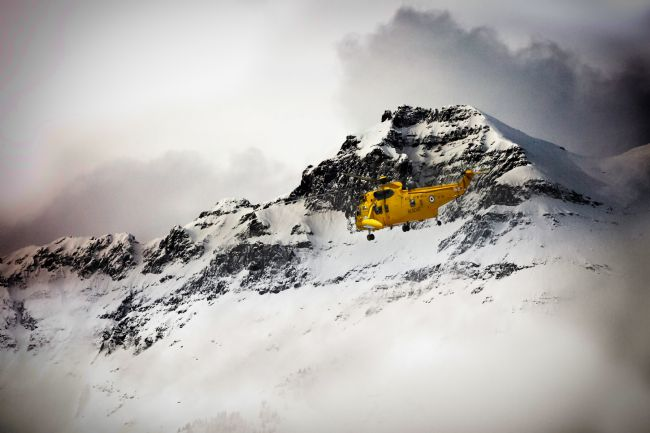 James Biggadike | Sea King Mountain Rescue