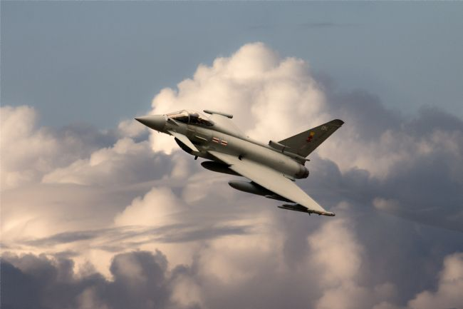 James Biggadike | 41 Squadron Typhoon