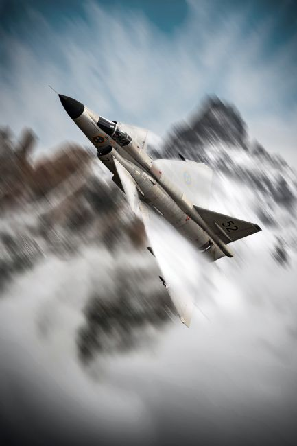 Airpower Art | Viggen Warrior