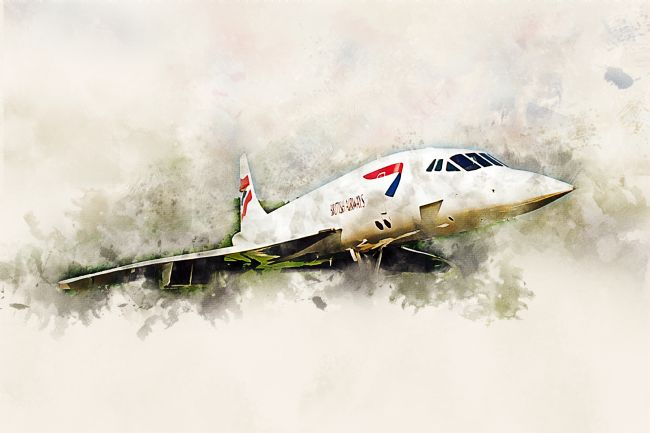 James Biggadike | Concorde - Painting
