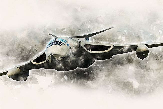 James Biggadike | Handley Page Victor - Painting