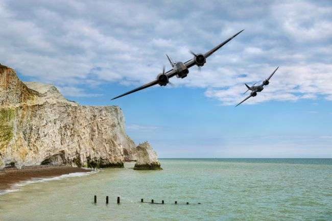 James Biggadike | Blenheims Over The Cliffs