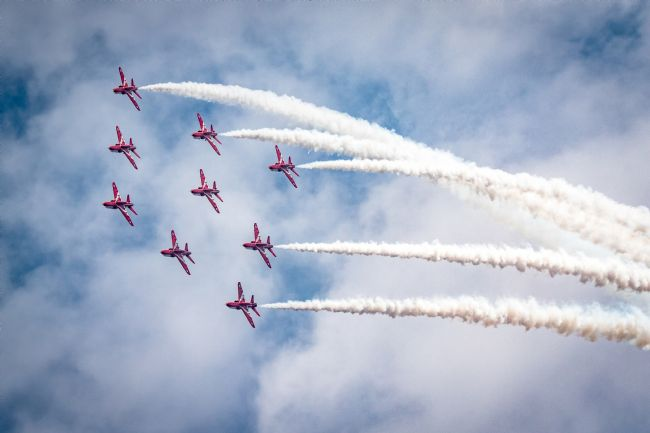 James Biggadike | Red Arrows Roll Out