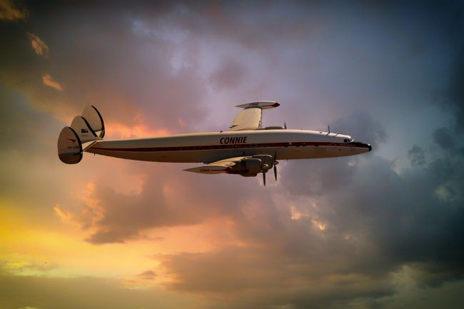 James Biggadike | Super Constellation
