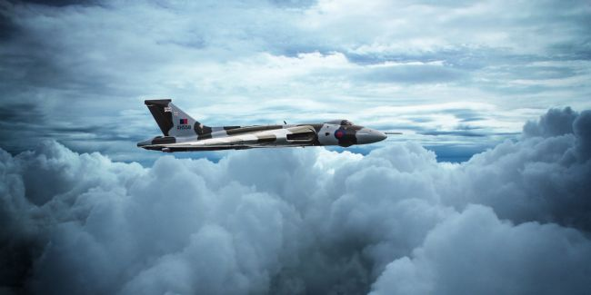 James Biggadike | XH558 In The Clouds
