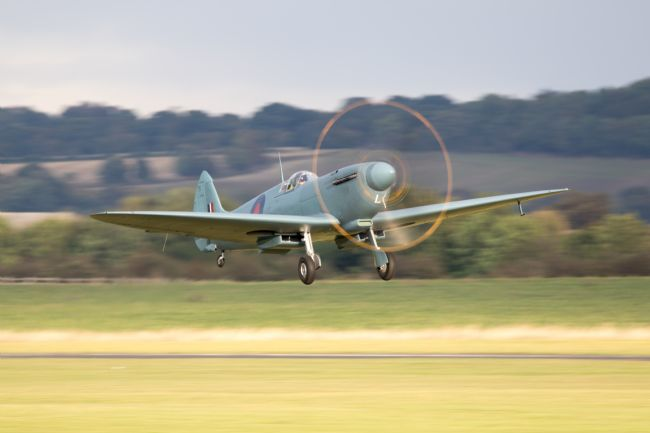 Airpower Art | Spitfire PL965 Takes Off