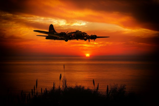 James Biggadike | B-17 Sunset Coast