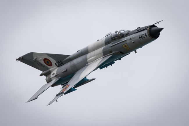 Airpower Art | Romanian Mig-21