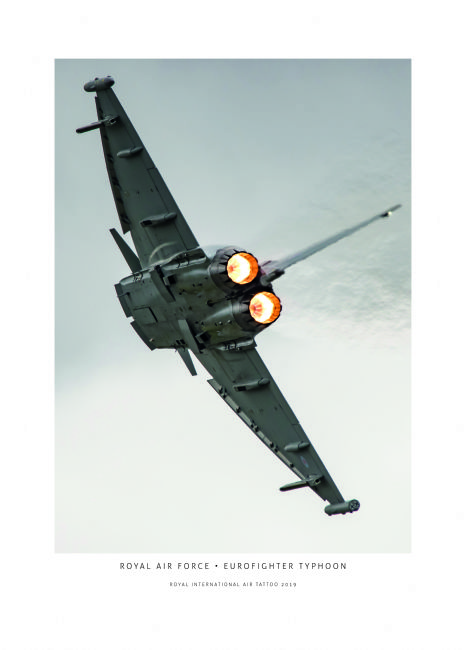 Airpower Art | Royal Air Force Eurofighter Typhoon