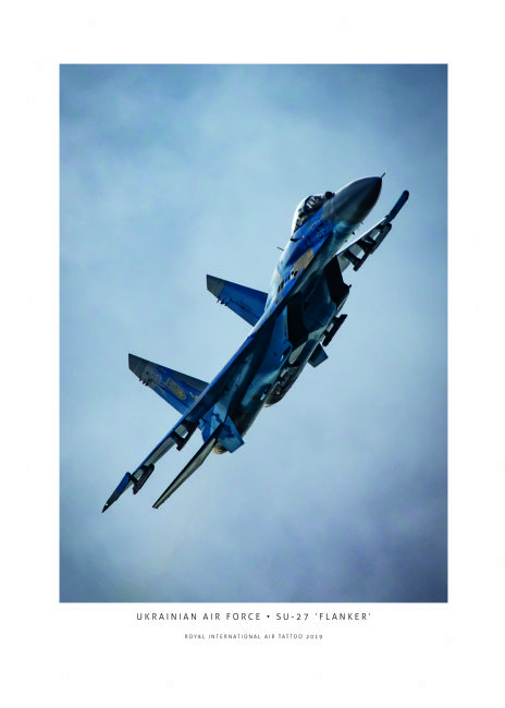 Airpower Art | Ukrainian Air Force Su-27 'Flanker'