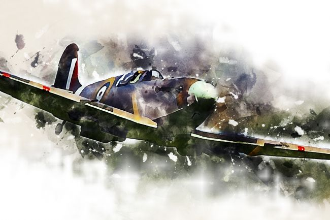 James Biggadike | Spitfire Mk1 - Painting