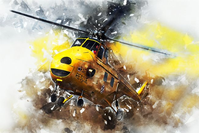James Biggadike | Westland Whirlwind - Painting