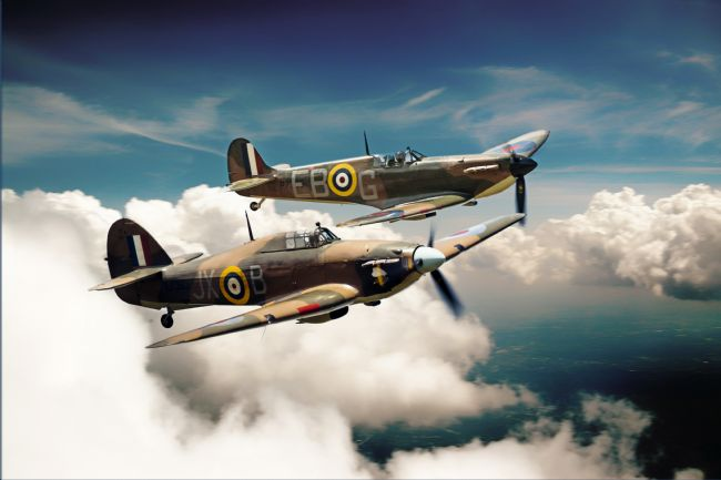 James Biggadike | BBMF Spitfire and Hurricane