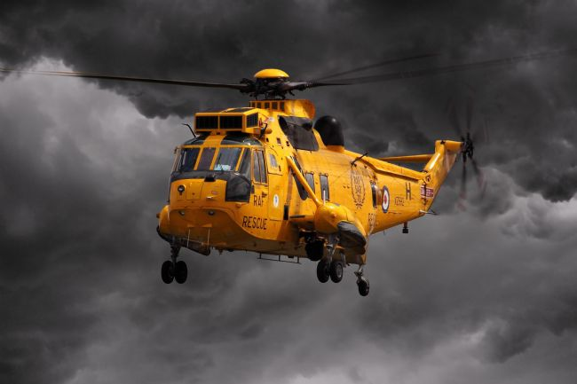 James Biggadike | SAR Sea King