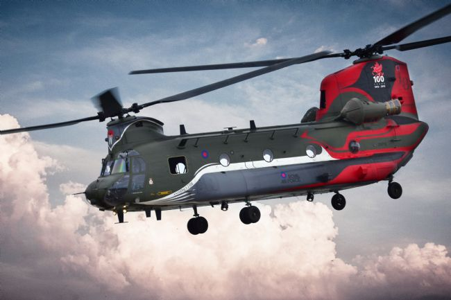 James Biggadike | Centenary Chinook