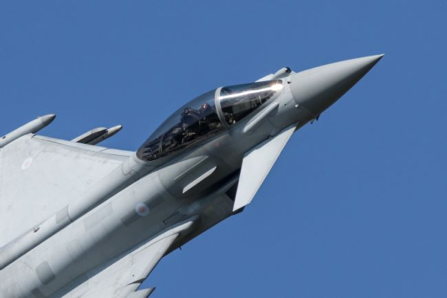 Airpower Art | RAF Typhoon Display
