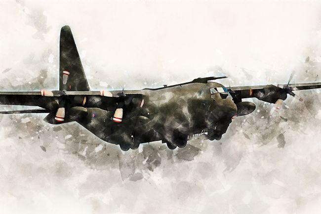 James Biggadike | C-130 Hercules - Painting