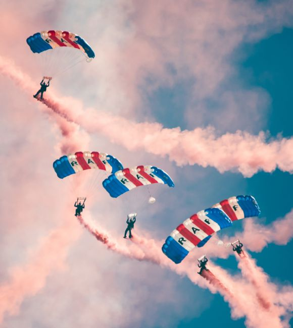 James Biggadike | RAF Falcons Display Team