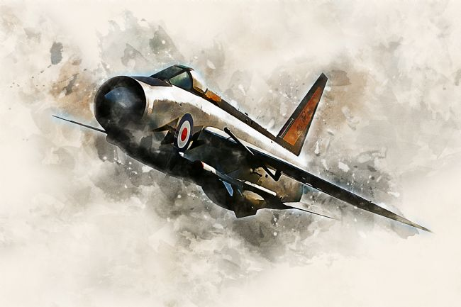 James Biggadike | English Electric Lightning - Painting