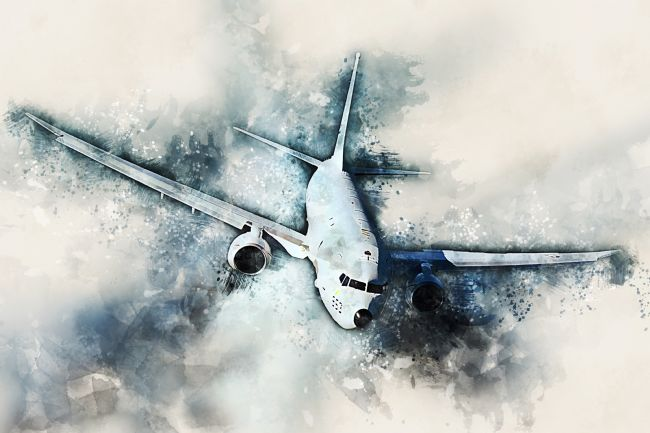 James Biggadike | P-8 Poseidon - Painting