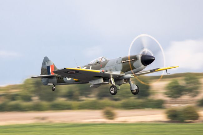 Airpower Art | Supermarine Spitfire MV268 Taking Off