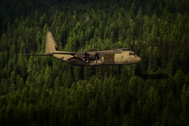 Airpower Art | Forest Hercules
