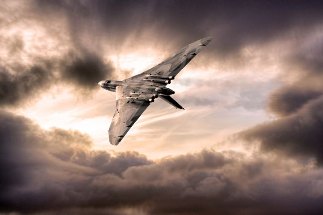 Airpower Art | The Vulcan Bomber