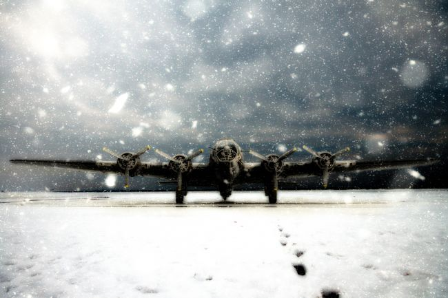James Biggadike | B-17 In The Snow